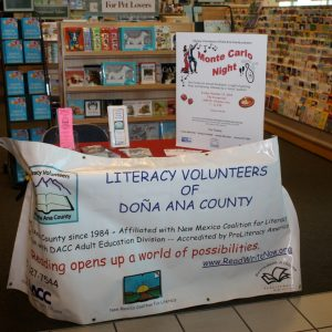Where are our Volunteers at Barnes and Noble? Off cruising the bookshelves!