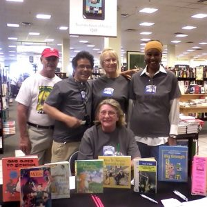 The Book Fair Volunteer Gang